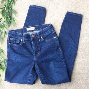 Madewell High Riser Skinny Jeans